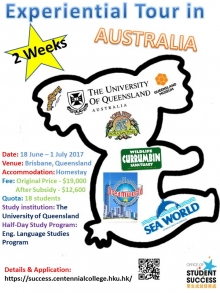 2 Weeks Experiential Tour in Australia (Final Call!!)