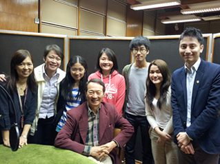 Centennial College 明德學院 - Visit RTHK with Council Chairman 2013