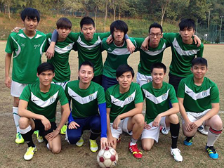 Centennial College 明德學院 - First friendly football match against CityU Staff Team