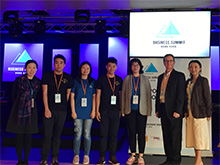 "Centennial College co-organised the business summit ""The purpose of work"""