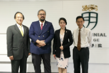 Visit of Consul-General of Malaysia in Hong Kong