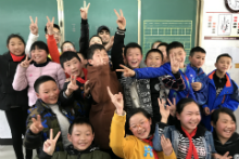 Voluntary Service Tour in Sichuan 2018